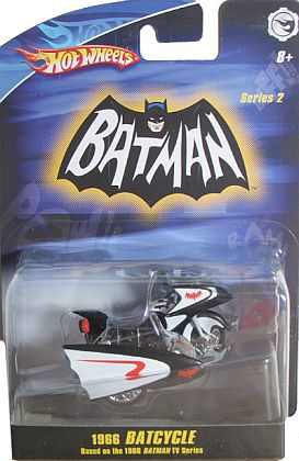 BATCYCLE from 1966 Batman TV sereis • #HW-M7098