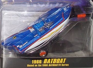 BATBOAT & TRAILER from 1966 BATMAN TV Series • #HW-N8016