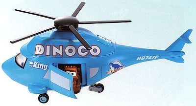 DINOCO Helicopter from CARS, Item #L2560