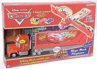 Mega Mack Playtown, CARS by Disney Pixar
