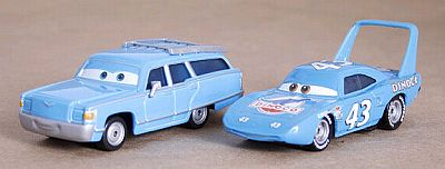 CARS • Mrs. KING & THE KING • Mattel • #L4161 • Disney PIXAR
