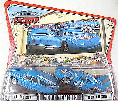 Mrs. & Mr. King Movie Moments, CARS by Disney Pixar