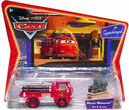 CARS - RED & STANLEY - Movie Moments - Disney PIXAR - Item #L5268