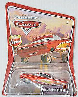 #15, Lightning Ramone CARS by Disney Pixar