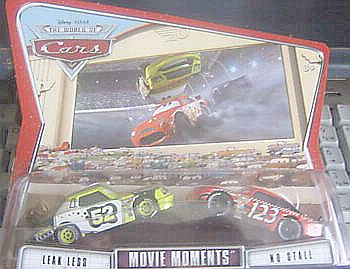 M4934 Leak Less #52 & No Stall #123 Movie Moments, CARS by Disney Pixar