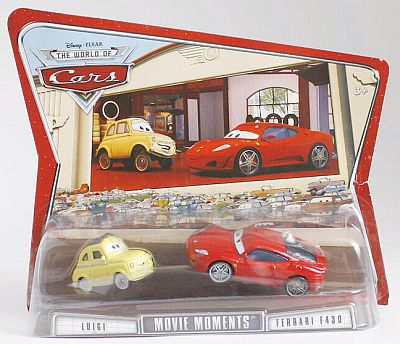 M4938 Luigi & Ferrari F430 Movie Moments, CARS by Disney Pixar