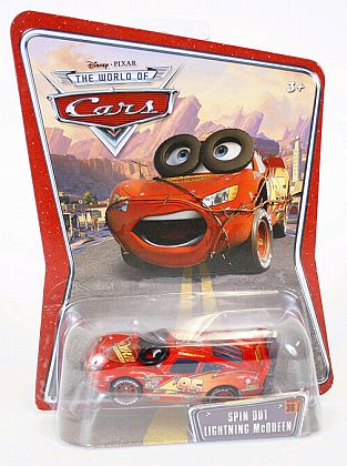 CARS - Spin Out McQueen - #36 - Disney PIXAR - Item #M6114