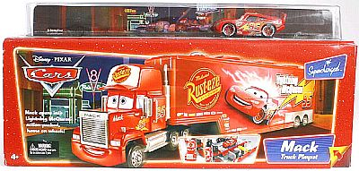 MACK Truck Playset, CARS by Disney Pixar