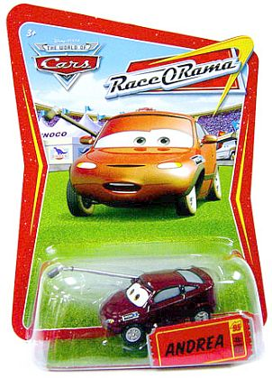 CARS - Andrea with Microphone - #89 - Item #P1650 - Disney Pixar