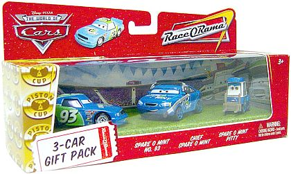 CARS - Team Spare O Mint - Gift Pack - #P9274 - Disney/PIXAR
