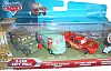 CARS - PIT CREW MEMBERS • SARGE • FILLMORE • Lightning McQueen • 3-Car Gift Pack • #R6607 • Disney/PIXAR