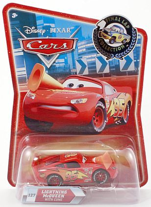 CARS • LIGHTNING McQUEEN with Cone • Final Lap Collection • #R8668