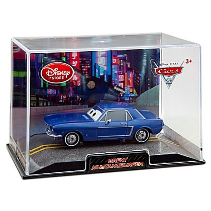 BRENT MUSTANGBURGER • Disney Store Exclusive • CARS 2 • #DS10061