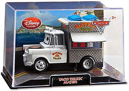 Taco Truck MATER • Disney Store Exclusive • CARS 2 • #DS15029