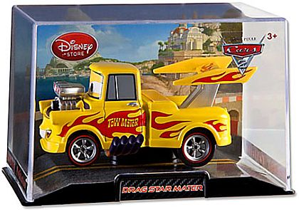 Drag Star MATER • Disney Store Exclusive • CARS 2 • #DS15031