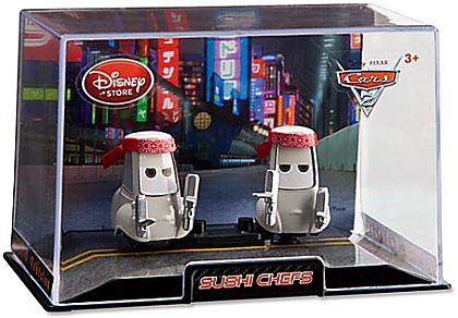 SUSHI CHEF'S • Disney Store Exclusive • CARS 2 • #DS15033