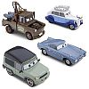 SAVE THE QUEEN 4-Car Set • Disney Store Exclusive • CARS 2 • #DS3093W