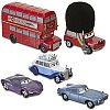 LONDON CALLING 5-Car Set • Disney Store Exclusive • CARS 2 • #DS3201W