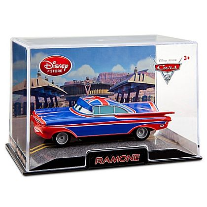 UNION JACK RAMONE • Disney Store Exclusive • CARS 2 • #DS87873