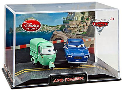 APE & TOMBER • Disney Store Exclusive • CARS 2 • #DS88948