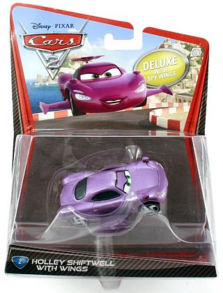 HOLLEY SHIFTWELL • Deluxe #2 • CARS 2 • #V2845