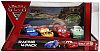 RAOUL ÇaROULE & MIGUEL CAMINO & LIGHTNING McQUEEN & DENNIS BEAM • Racing 4-car Gift Pack • Disney/PIXAR CARS 2 • #V5015