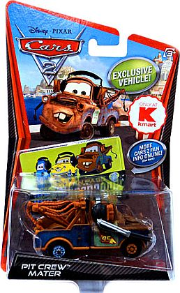 PIT CREW MATER • with Headset and Microphon • KMart exclusive • Disney/PIXAR CARS 2 • #V5131