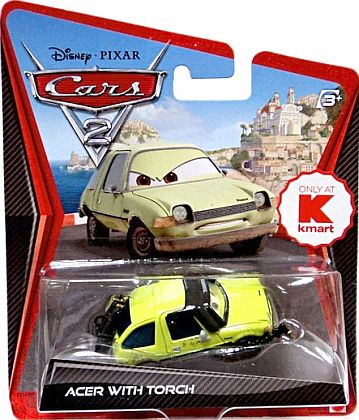 ACER WITH TORCH • kmart exclusive • Disney/PIXAR CARS 2 • #W6695
