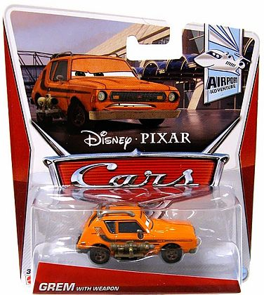 GREM WITH WEAPON • Disney•PIXAR CARS by theme • #Y7152