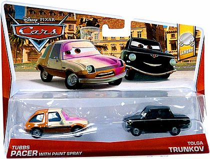 TUBBS PACER with paint spray & TOLGA TRUNKOV • Disney•PIXAR CARS by theme • #Y0516