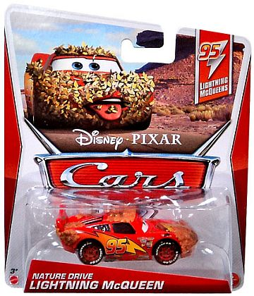 NATURE DRIVE LIGHTNING McQUEEN • Disney•PIXAR CARS by theme • #Y7181