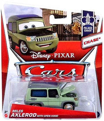 MILES AXLEROD with Open Hood • Disney•PIXAR CARS by theme • #Y0485