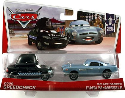DOUG SPEEDCHECK & PALACE DANGER FINN McMISSILE • Disney•PIXAR CARS by theme • #Y0510