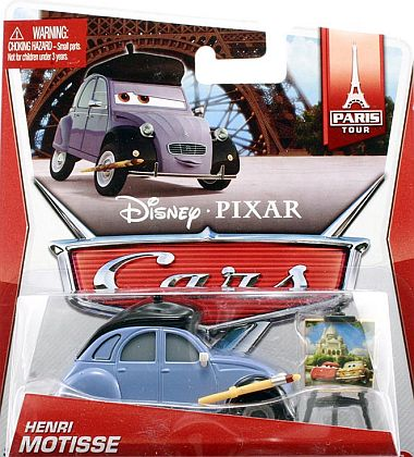HENRI MOTISSE • PARIS Tour • Disney/PIXAR CARS 2 • #BDX30