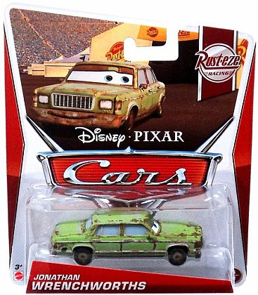 JONATHAN WRENCHWORTHS • Disney•PIXAR CARS by theme • #Y7176
