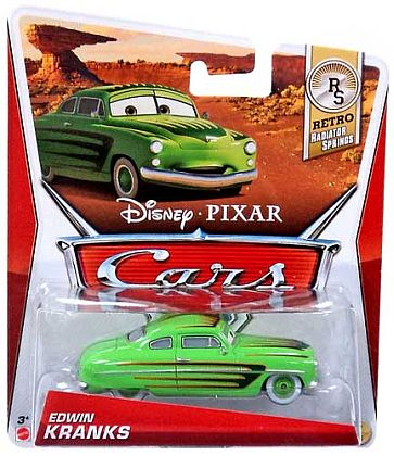 EDWIN KRANKS • Disney•PIXAR CARS by theme • #Y7189