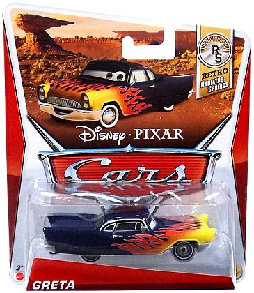GRETA • Disney•PIXAR CARS by theme • #Y7186