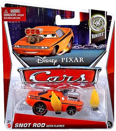 SNOT ROD with Flames • Disney•PIXAR CARS by theme • #Y5057