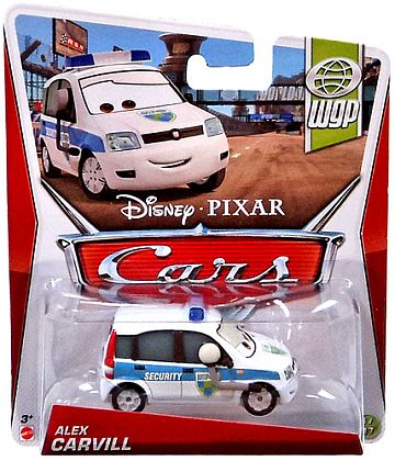ALEX CARVILL WGP SECURITY • Disney•PIXAR CARS by theme • #Y0493