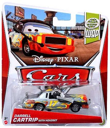 DARRELL CARTRIP with Headset • Disney•PIXAR CARS by theme • #Y7135