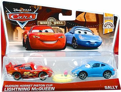 LIGHTNING McQUEEN and SALLY • Disney•PIXAR CARS by theme • #Y0511