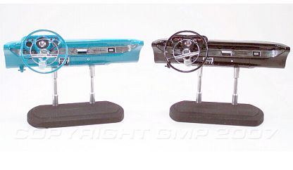 1957 Chevrolet Bel Air dash board, aqua or black