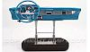1957 Chevrolet Bel Air dash board, aqua, Item: G0605101