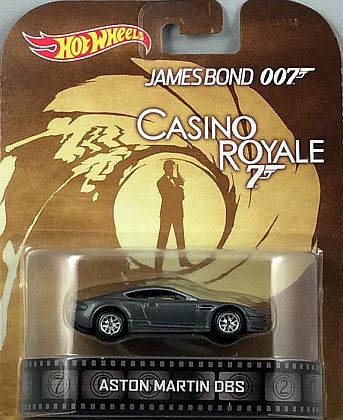 Aston Martin DBS • James Bond 007 • #HW-BDV05