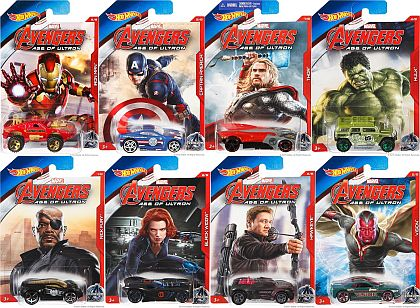Marvel AVENGERS  • AGE OF ULTRON • Hot Wheels • #HW-CGB81