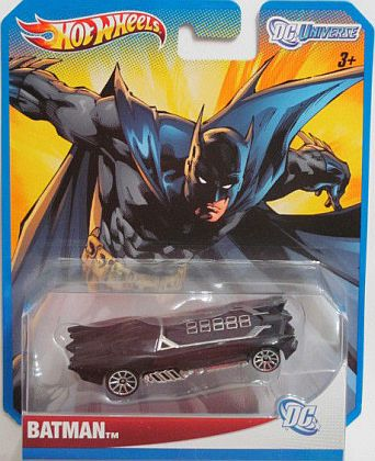 BATMAN DC Universe • Batmobile & #HW-W4515