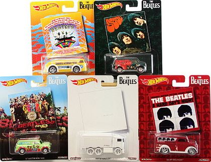 Hot Wheels BEATLES Set of 5 • #HW-DWD94