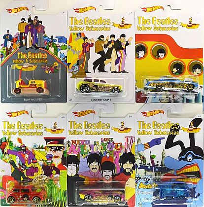 Yellow Submarine ¬bull, The BEATLES • Hot Wheels • #HW-DML69