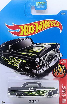 1955 Chevy Bel Air • HW Flames 2017 • #HW-DTX81