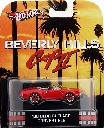 1968 Oldsmobile Cutlass Convertible • Beverly Hills Cop • HW Retro Entertainment • #HW-X8900
